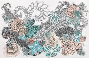 Abstract Pattern Drawings